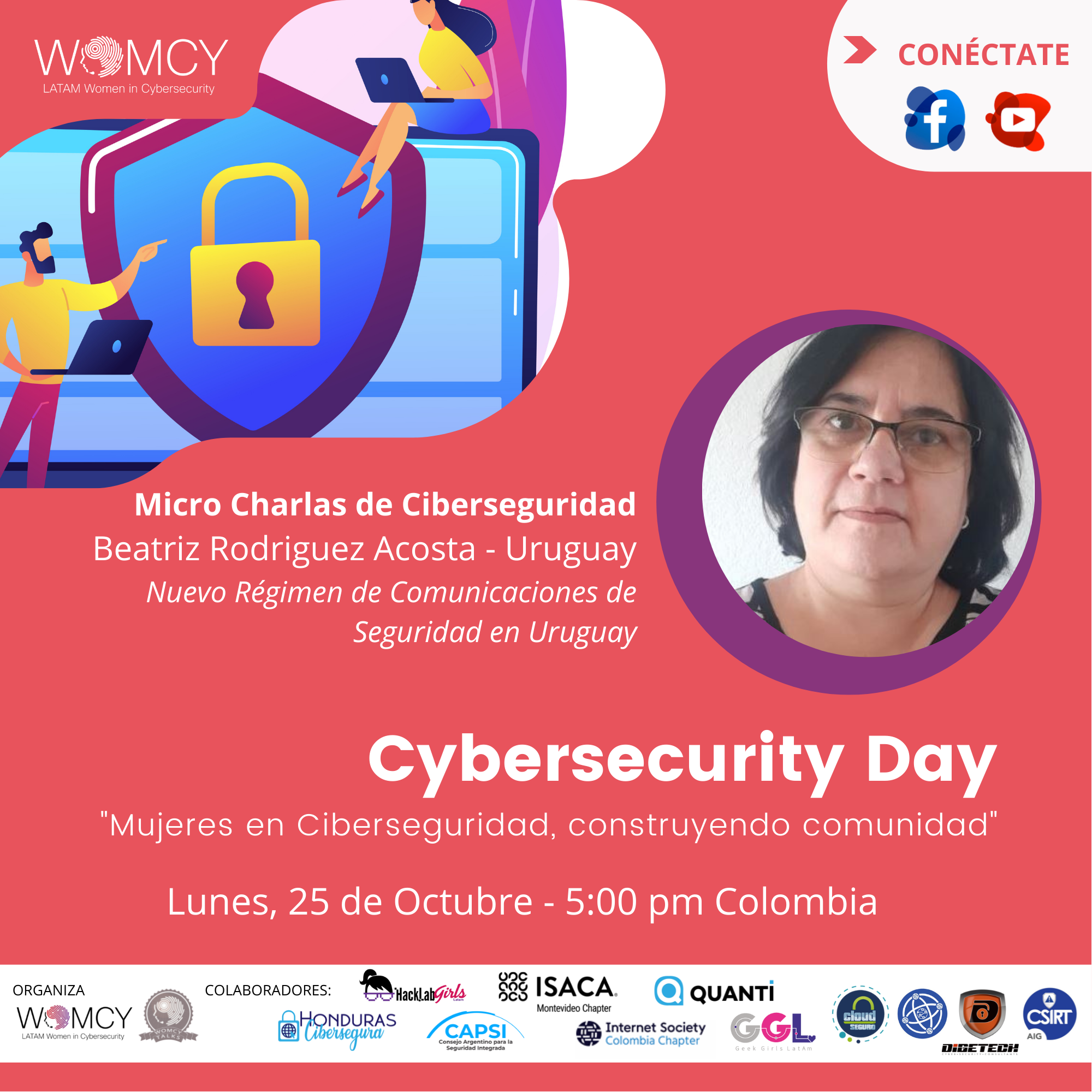Imagen alusiva a Cybersecurity Day