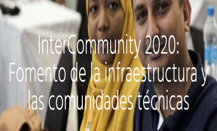 Imagen alusiva a InterCommunity 2020