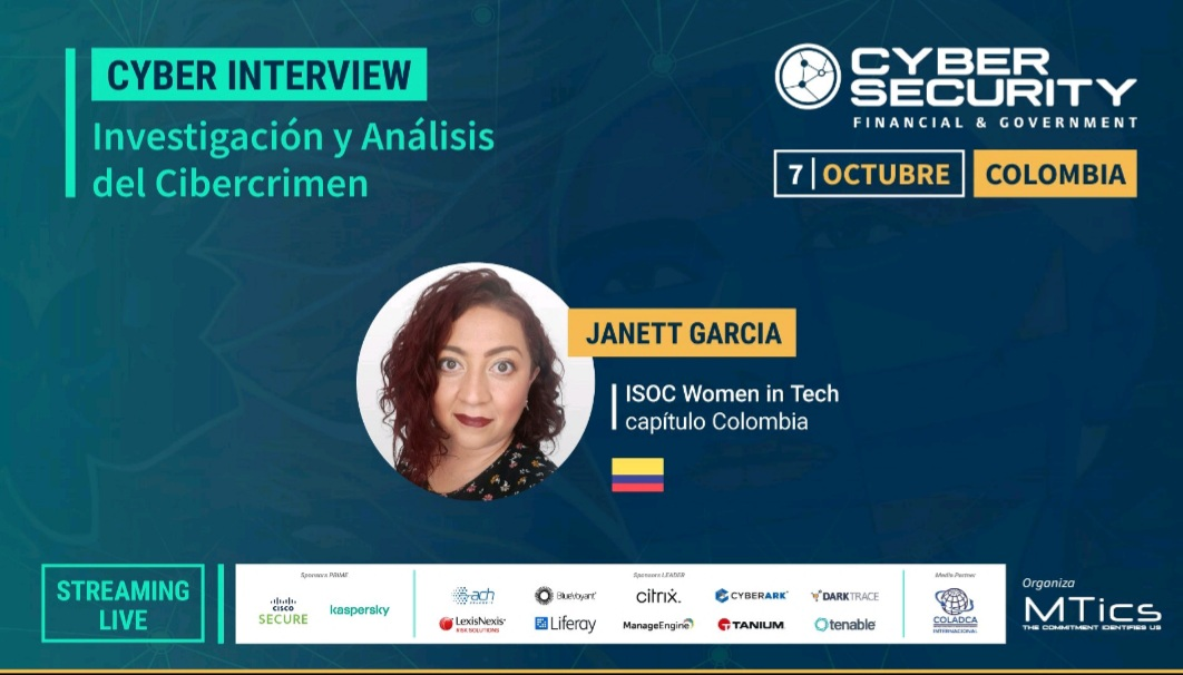 Imagen alusiva a Conferencia Cybersecurity Financial & Government Colombia 2021