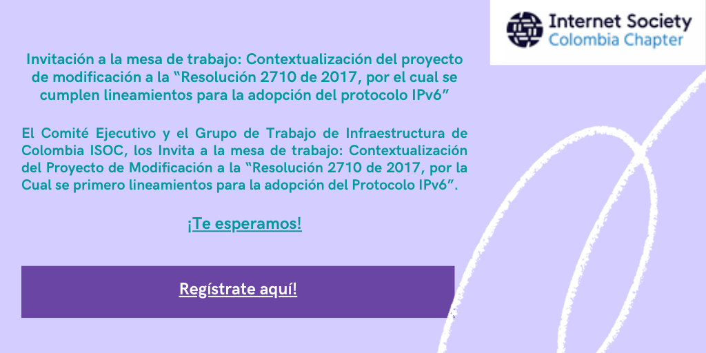 """Imagen alusiva a Invitación a la mesa de trabajo: Contextualización del proyecto de modificación a la """"Resolución 2710 de 2017""""."""