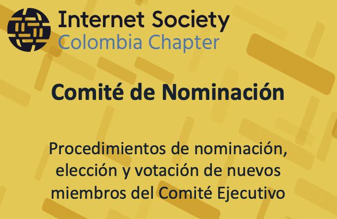 Imagen alusiva a Elecciones de Autoridades del Capítulo 2020