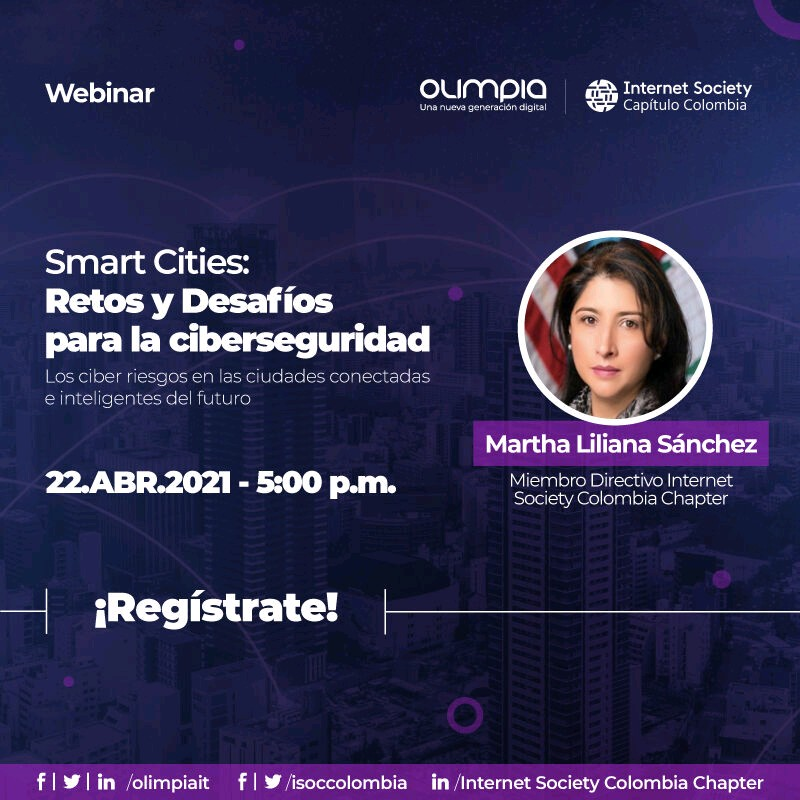 Imagen alusiva a Smart Cities: Retos y desafíos para la Ciberseguridad
